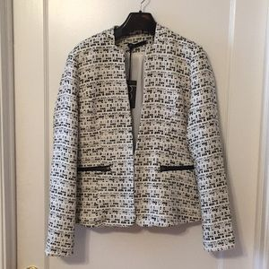 NWT Tweed jacket, size M